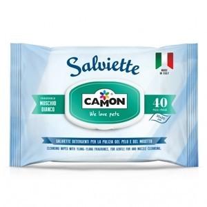 Salviette Muschio Bianco