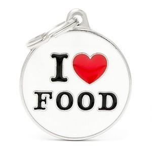 Medaglietta Charms I Love Food
