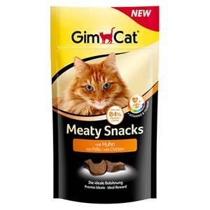 GimCat Meaty Snacks con Pollo