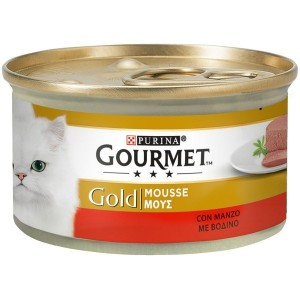 Gourmet Gold Mousse con Manzo