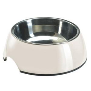 Melamine Feeding Bowl Bianco