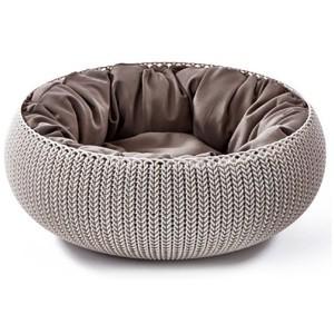 Cozy Pet Bed Beige
